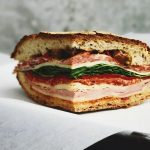 Lunch - BLT Sandwich Bacon Lettuce Tomato