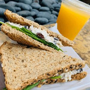 Lunch - Chicken Salad Cranberry Sandwich