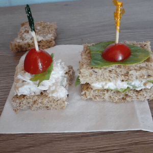 Mini-Toast For Catering