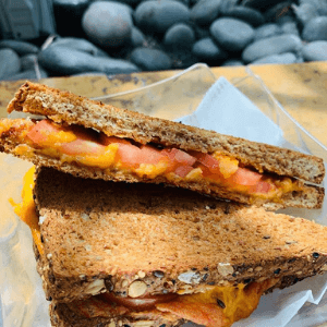 Sandwich Grilled Cheese and TomatoesSandwich Grilled Cheese and Tomatoes
